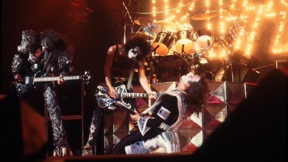 "Kiss used makeup to take its stage persona to another level. The group built its fan base over 40 years of constant touring and was rewarded with such hit singles as ""Rock and Roll All Nite,"" ""Beth"" and ""Hard Luck Woman."""