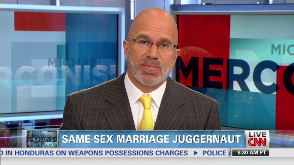 Same-sex marriage juggernaut