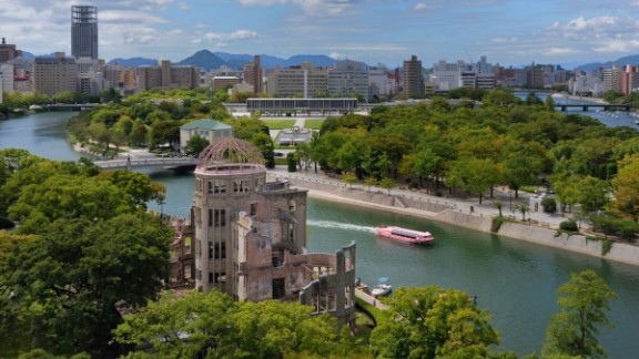 Genbaku Dome: Visitors to the city can also see Hiroshima