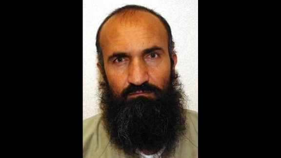 Five detainees at Guantanamo Bay were transferred to Qatar in exchange for the release of Army Sgt. Bowe Bergdahl, who was being held by the Taliban. Two senior administration officials confirmed the names of the released detainees, whose photos were obtained by WikiLeaks. Khair Ulla Said Wali Khairkhwa, seen here, was an early member of the Taliban in 1994 and was interior minister during the Taliban