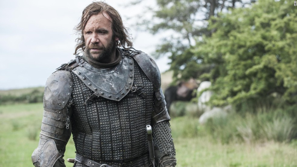 "Scottish actor Rory McCann portrays Sandor ""The Hound"" Clegane on the HBO television series ""Game of Thrones."""