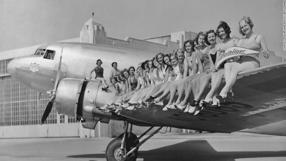 "1936: The Douglas DC-3 entered service with American Airlines with a flight from New York to Chicago. It became known as the ""plane that changed the world"" with its speed and range better than any other plane of the time. More than 10,000 were built."