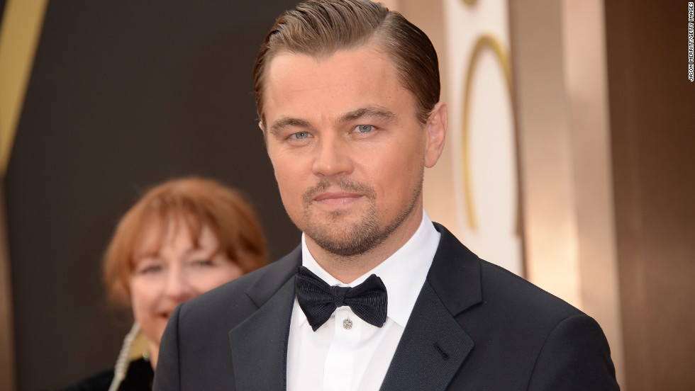 Of course, DiCaprio is usually as debonair as it gets. Witness him on the red carpet at the 2014 Oscars.