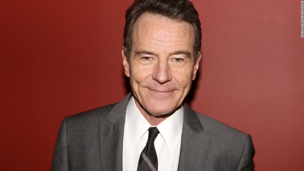 Cranston looked considerably less threatening at the Critics Circle Theatre Awards held in May 2014 in New York City.