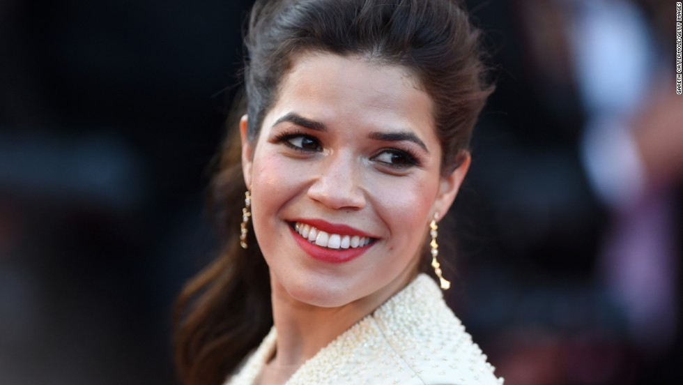 "Ferrera showed the world how attractive she is at the ""How To Train Your Dragon 2"" premiere during the 67th Annual Cannes Film Festival in May 2014."