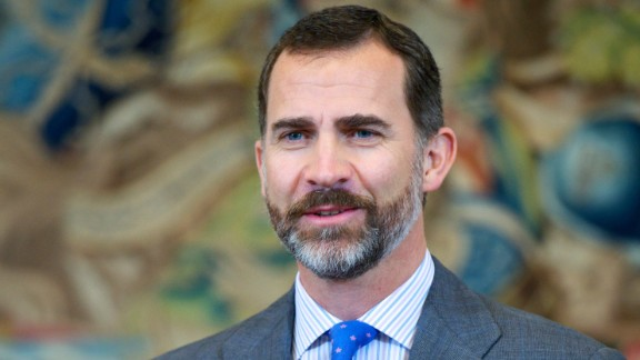 Prince Felipe of Spain, 46, is to succeed his father Juan Carlos, King of Spain.