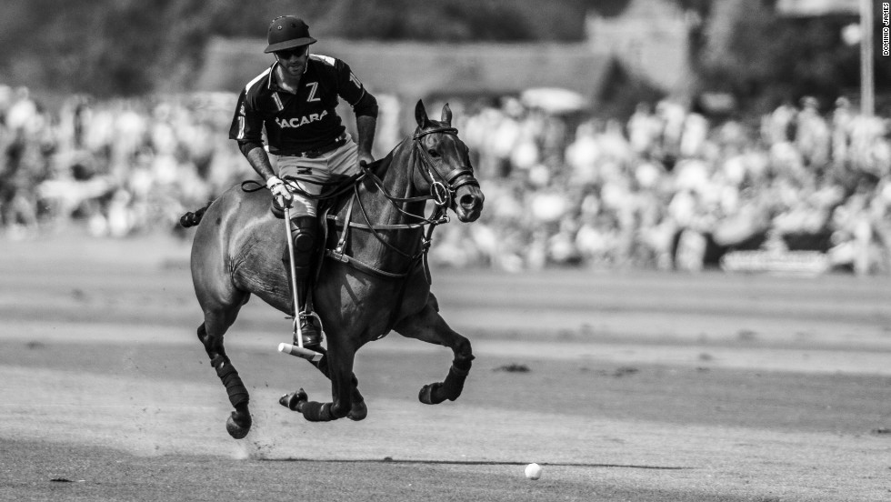 """Since I was a kid I was around horses and watching my father play, so always knew I liked the game a lot, but I didn't know how good I was going to be,"" Pieres says. ""As soon as I realized that, I knew that I would do it for the rest of my life."""