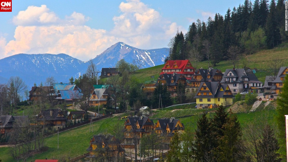 "<strong>10. ""Picture-perfect"" Zakopane:</strong> Richard Gornik was awed by ""the beautiful scenery and the holiday atmosphere"" in the town of <a href=""http://ireport.cnn.com/docs/DOC-1137064"">Zakopane</a> during a visit to Poland."