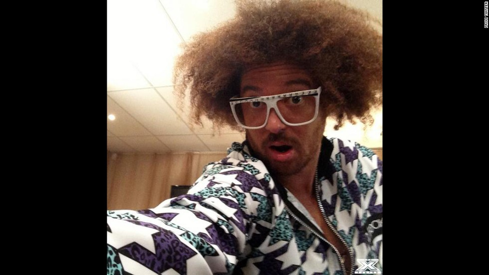 "Redfoo of the music duo LMFAO snaps a selfie that was tweeted on the <a href=""https://twitter.com/thexfactor_au/status/473766343355817984/photo/1"" target=""_blank"">X Factor Australia account</a>. ""Ever wonder what would happen if @Redfoo borrowed your phone? This,"" read the tweet on Tuesday, June 3. <a href=""http://www.cnn.com/2014/05/28/world/gallery/look-at-me-0528/index.html"">See 31 selfies from last week</a>"