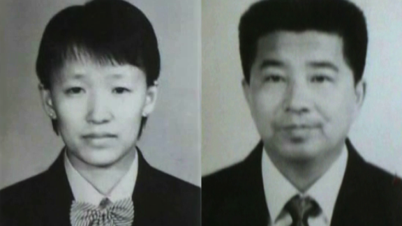 Yang Xiangbin, left, and the group's founder, Zhao Weishan. Group members believe Yang is the reincarnation of Jesus.
