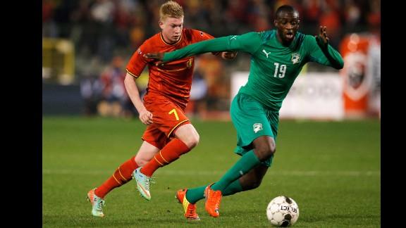 Yaya Toure (Ivory Coast): He says he