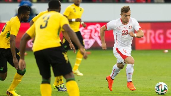 Xherdan Shaqiri (Switzerland): The Swiss don