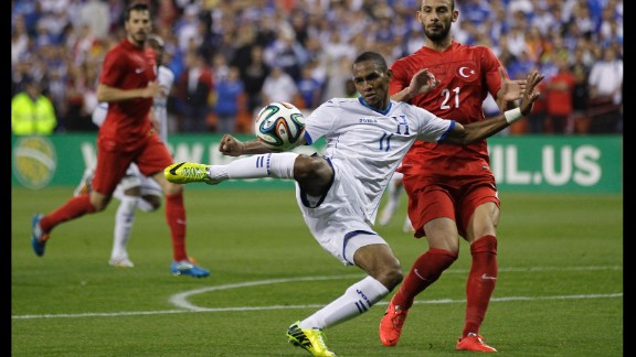 Jerry Bengston (Honduras): His performance for the New England Revolution has been lackluster. Just months ago, he wasn