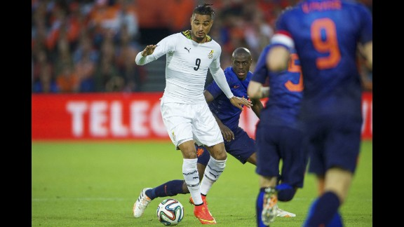 Kevin-Prince Boateng (Ghana): The Black Stars have aging stars. It