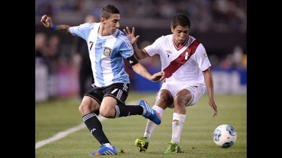 Angel Di Maria (Argentina): The perennially talented Argentines are a favorite to advance thanks to a strong defense and a set of strikers that would make any nation drool. The speed and pinpoint passing of Di Maria, left, should make the Real Madrid playmaker  the star of an aging midfield. And Argentina