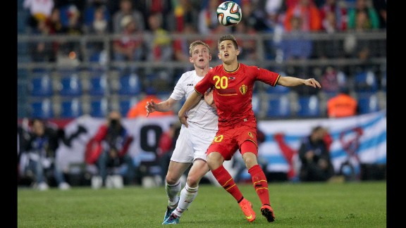 Adnan Januzaj (Belgium): The Belgians are young, and none is younger than the Manchester United wunderkind, seen at right. With one cap to his name -- and surrounded by some of soccer