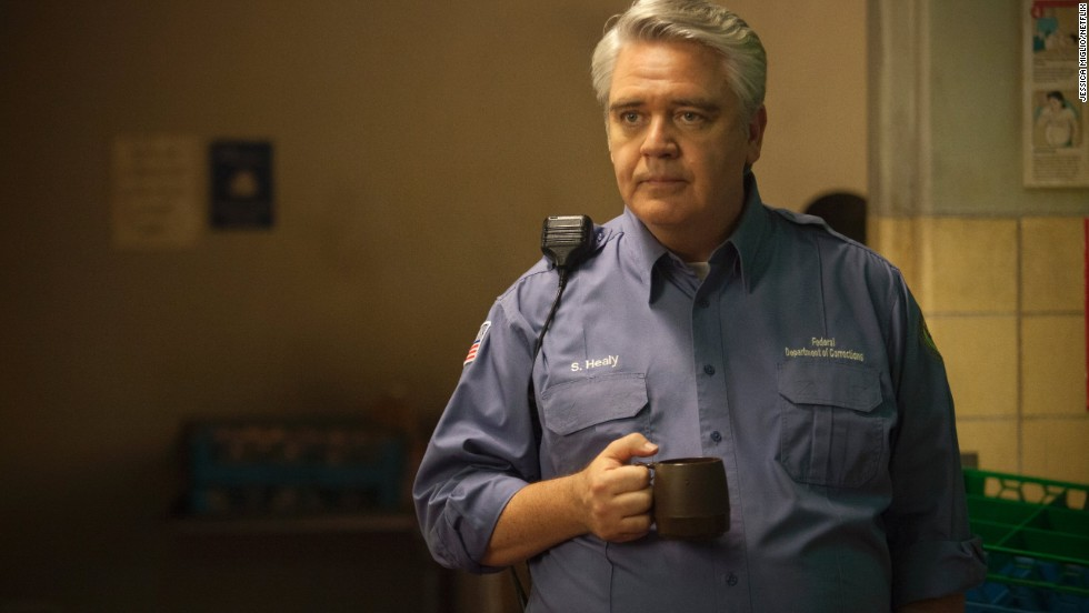 Sam Healy (Michael Harney) is a counselor and corrections officer at Litchfield Penitentiary in upstate New York.  He has issues with lesbians and causes problems for Piper.