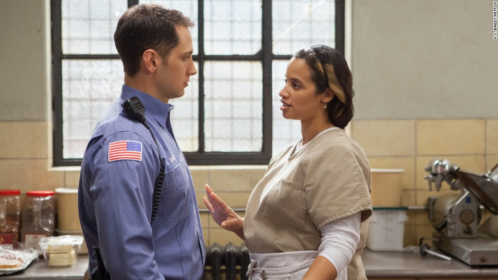 "Prison guard John Bennett (Matt McGorry) and inmate Dayanara ""Daya"" Diaz (Dascha Polanco) begin an illicit love affair that puts his job at risk."