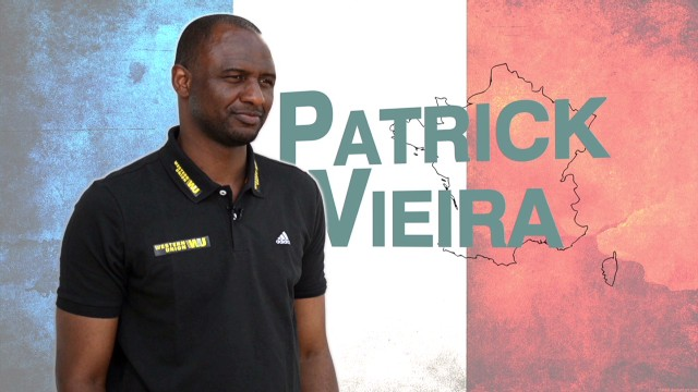 Patrick Vieira: Football changed my life