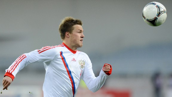 Maksim Kanunnikov (Russia): Boy, Fabio Capello better have this one right. The 22-year-old