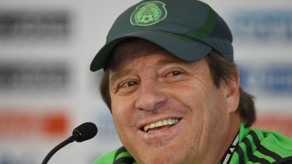 Miguel Herrera (Mexico): OK, fine, he
