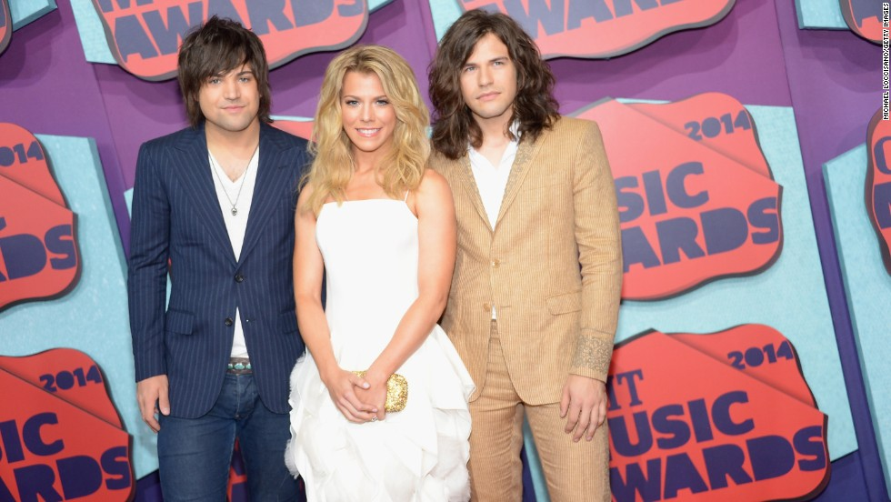 From left, Neil Perry, Kimberly Perry and Reid Perry of The Band Perry