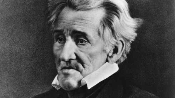 Andrew Jackson was the 7th U.S. president.