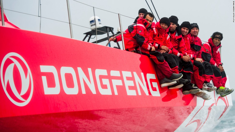 If you joined Dongfeng Race Team, you would share your space with seven crewmates -- including the skipper -- plus an on-board reporter. Hundreds of applicants initially applied.