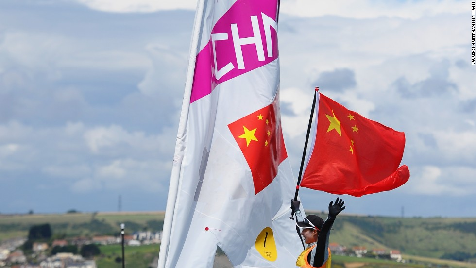 "China has only recently enjoyed any success in sailing. ""Two Chinese sailors have brought significant awareness of sailing in the past two years,"" says Lingling Liu, founder of China sports business experts SportsCom. The first is Xu Lijia, who won Olympic gold at London 2012."