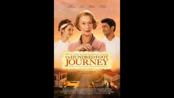 """""""The Hundred-Foot Journey"""" (August 8): Helen Mirren stars as eccentric French chef Madame Mallory, who competes with an Indian family that opens a restaurant close by. Oprah Winfrey produces."""