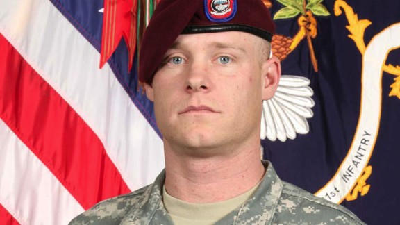 """The deaths of six U.S. soldiers in Afghanistan are being tied, directly or indirectly, to the search for Army Sgt. Bowe Bergdahl after he went missing and was captured by the Taliban in 2009, former unit members allege. Staff Sgt. Clayton Patrick Bowen, seen here, was killed on August 18, 2009. A U.S. official told CNN in June that Pentagon and Army officials have looked at the claims, and """"right now there is no evidence to back that up."""""""