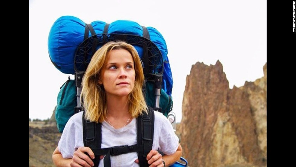 "<strong>""Wild""</strong> (December 5): Writer Cheryl Strayed's harrowing physical and emotional journey on the Pacific Crest Trail is captured through a performance from Reese Witherspoon."