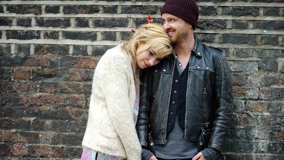 """""""A Long Way Down"""" (June 5 online; July 11 in select theaters): Nick Hornby's darkly comic novel is brought to life by Aaron Paul, Imogen Poots, Rosamund Pike, Pierce Brosnan and Toni Collette. The story follows four people who all choose to end their life on the same night and find each other at the top of a London building."""