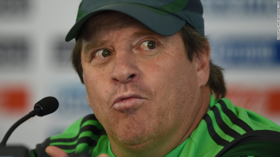 "Mexico coach Miguel Herrera is hoping his players exercise a little restraint during their time in Brazil. ""If a player can't go one month or 20 days without having sexual relations, then they are not prepared to be a professional player,"" he told Mexican newspaper Reforma."