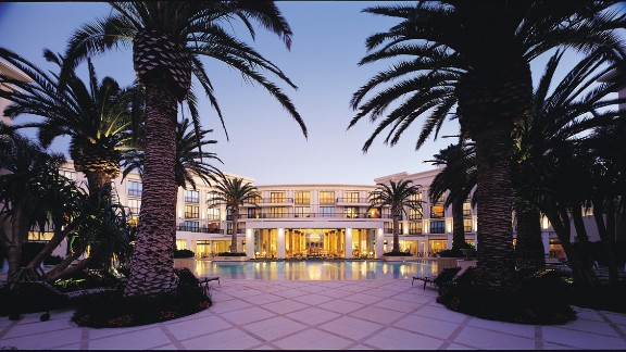 Australia's Palazzo Versace was the world's first fully fashion-branded hotel, and as is fitting of the brand, the property is nothing if not luxurious. The 200 bedrooms and suites were designed by the House of Versace.
