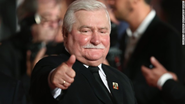 Lech Walesa attends the 'Walesa: Man Of Hope' Premiere during the 70th Venice International Film Festival at the Palazzo del Cinema on September 5, 2013 in Venice.