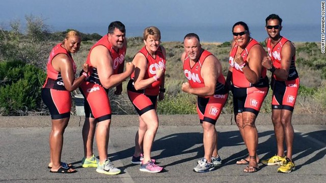 Fit Nation triathletes ready to race!