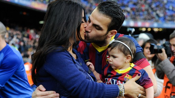 Daniella Semaan and Spanish player Cesc Fabregas photographed kissing is not a cause for concern. But it wasn