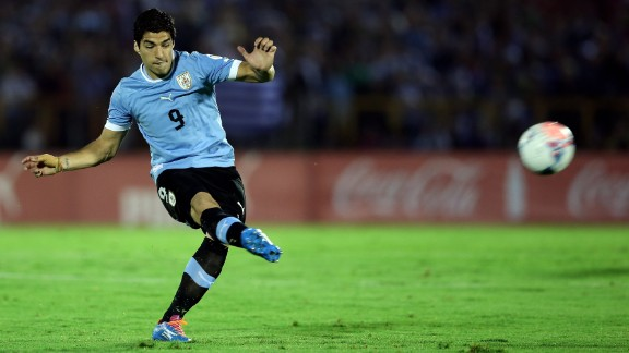 Luis Suarez (Uruguay): Yes, he just had knee surgery, and Coach Oscar Tabarez says he can