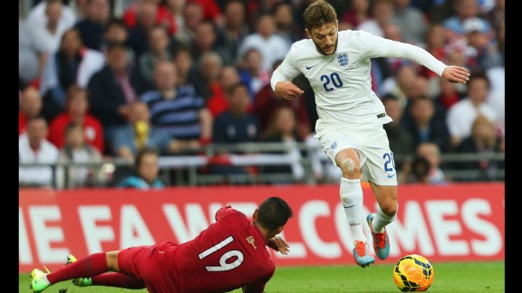 Adam Lallana (England): For the casual fan, the 26-year-old might not be among England