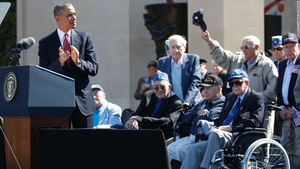 Transcript Of Obamas Speeck On 70th Anniversary D Day