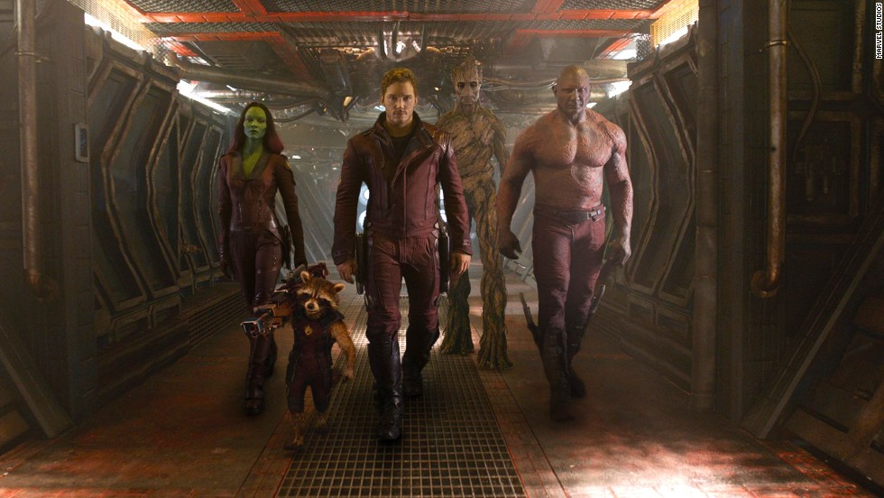 "In Marvel's ""Guardians of the Galaxy,"" an unlikely band of criminals turned heroes attempts to save the universe. Galactic mayhem ensues."