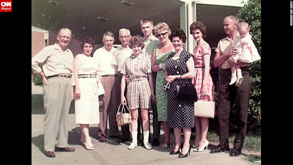 "<a href=""http://ireport.cnn.com/docs/DOC-1141005"">Lisa Trump</a>, whose father was a German immigrant, was just one year old when this 1961 photo was taken at the Cincinnati airport. ""We hosted many visiting family members as they came to the USA,"" she said. ""Going to the airport to greet or send off family was always a big deal. It really was customary at the time to be at the airport or to even travel dressed in your Sunday best. As the daughter of an immigrant, those visits to the airport have been a lasting lifetime memory of a way to connect to my far-away family members."""