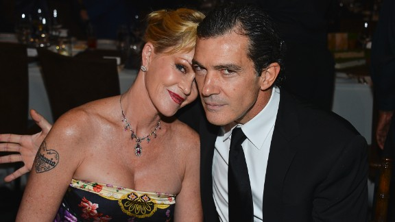 "Melanie Griffith and Antonio Banderas ""thoughtfully and consensually"" brought an end to their 20-year marriage in June 2013. The two actors released a statement announcing their breakup after reports indicated Griffith had filed for a divorce."