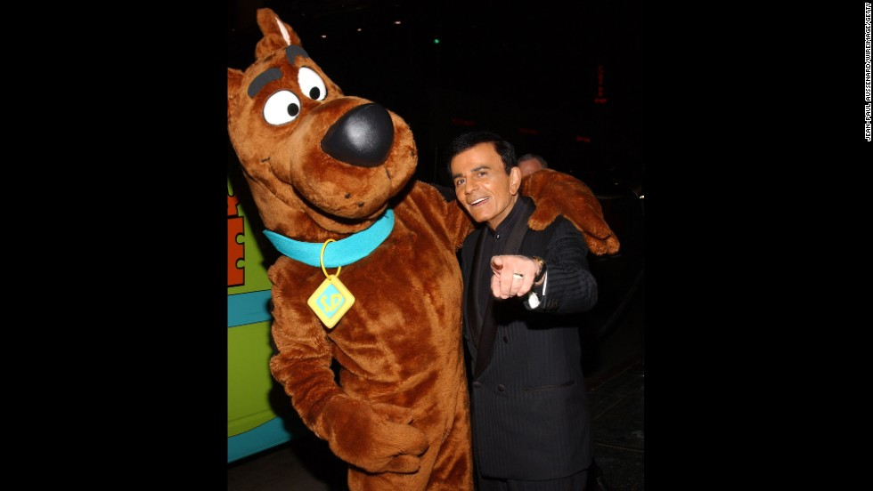 "Kasem was an in-demand voice-over artist. He's probably best known for supplying the voice of Shaggy in the ""Scooby-Doo"" cartoon series."