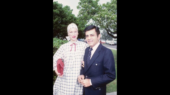 Casey and Jean Kasem were frequent participants in the Hollywood social circuit. Here, they attend the Stars