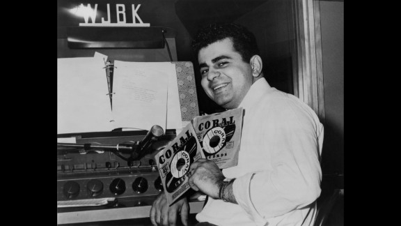 Kasem, the legendary DJ, host and voice-over talent, was born in Detroit and got his start at Michigan radio stations. Here he is in the DJ booth at Detroit