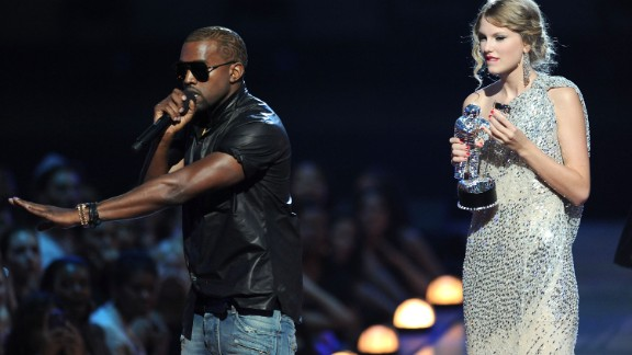 "All the apologies in the world couldn't repair Kanye West's PR damage after he interrupted Taylor Swift's acceptance speech at the 2009 MTV Video Music Awards. Although he apologized more than once -- via Twitter, by phone and on ""The Tonight Show"" with Jay Leno as host -- public opinion wasn't swayed."