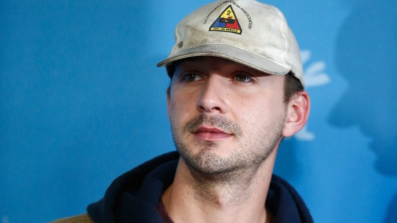 "Shia LaBeouf is such a pro at apologizing that he's started to think outside of the box. After he tweeted that he ""f****d up"" when he copied another artist's work without credit in December, he then drove the point home by plagiarizing other famous apologies, skywriting his regret and then establishing a performance art piece called #IAmSorry."