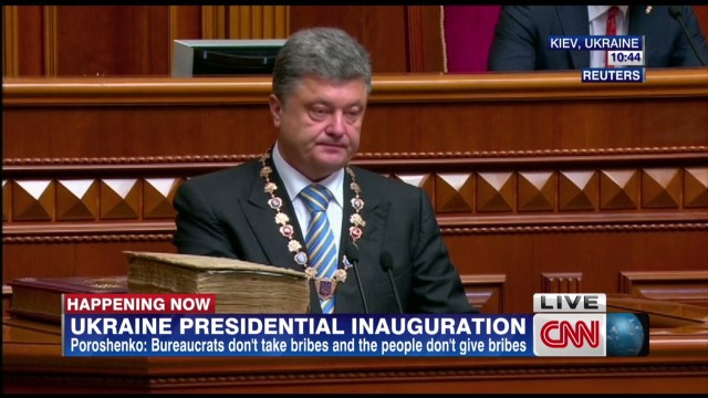Ukraine's president vows to protect